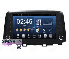 Hyundai Kona Android Car Stereo Navigation In-Dash Head Unit
