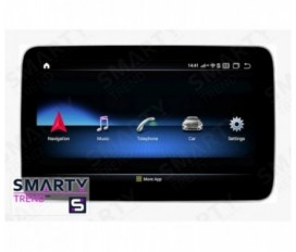 Mercedes-Benz ML-Class (W166) 2008-2012 Android Car Stereo Navigation In-Dash Head Unit