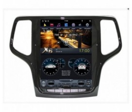 Jeep Grand Cherokee (2013-2019) - Tesla Style Android Car Stereo Navigation In-Dash Head Unit