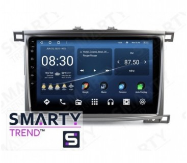 Toyota Land Cruiser 100 VX-R Android Car Stereo Navigation In-Dash Head Unit