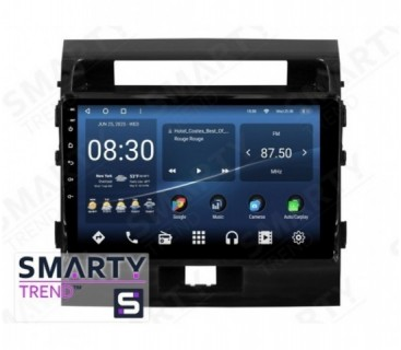 Toyota Land Cruiser 200 2008-2012 Android Car Stereo Navigation In-Dash Head Unit