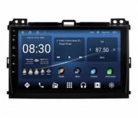 Toyota Land Cruiser Prado 120 2006-2010 Android Car Stereo Navigation In-Dash Head Unit