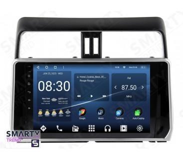 Toyota Land Cruiser Prado 150 2017+ Android Car Stereo Navigation In-Dash Head Unit