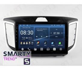 Hyundai Creta 2016+ (ix25) Android Car Stereo Navigation In-Dash Head Unit