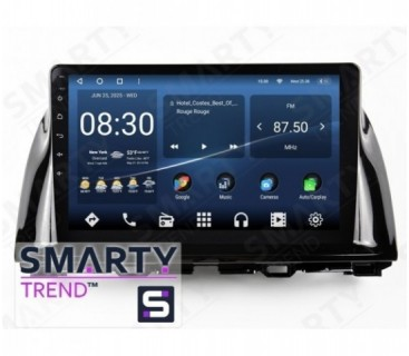 Mazda CX-5 2013-2014 (Low) Android Car Stereo Navigation In-Dash Head Unit