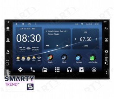 Universal 2 DIN Android Car Stereo Navigation In-Dash Head Unit