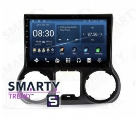 Jeep Wrangler 2017 Android Car Stereo Navigation In-Dash Head Unit