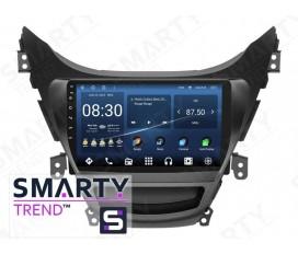 Hyundai Elantra 2010-2013 Android Car Stereo Navigation In-Dash Head Unit