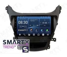 Hyundai Elantra 2013-2016 Android Car Stereo Navigation In-Dash Head Unit