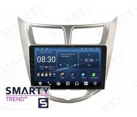 Hyundai Accent / Solaris / Verna Android Car Stereo Navigation In-Dash Head Unit