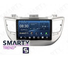 Hyundai Tucson 2016+ Android Car Stereo Navigation In-Dash Head Unit