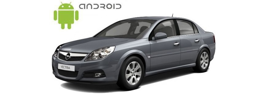 Example of installed SMARTY Trend Entertainment Multimedia in Opel Vectra C.