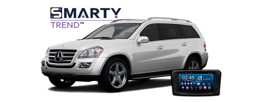 SMARTY Trend head unit overview for Mercedes Benz GL 550