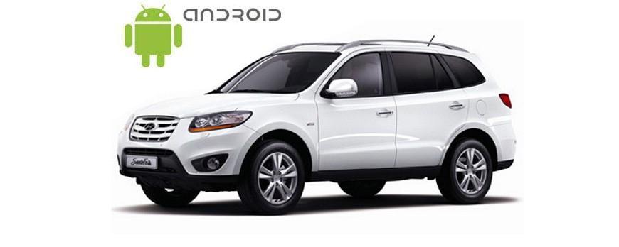 Hyundai Santa Fe 2006-2012 Android in-dash Car Stereo Navigation head unit - SMARTY Trend