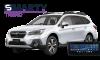 Subaru Outback 2015 installation example.