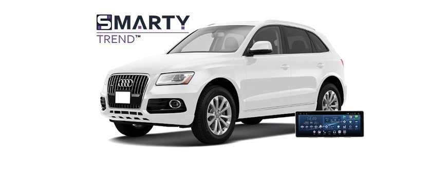 Example of installed SMARTY Trend Entertainment Multimedia in AUDI Q5