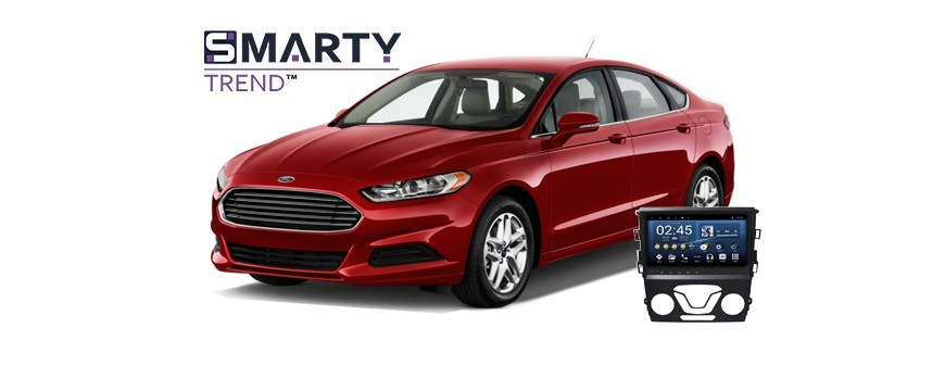Example of installed SMARTY Trend Entertainment Multimedia in FORD MONDEO (FUSION)