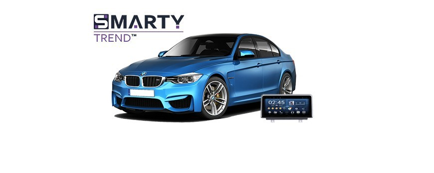 Example of installed SMARTY Trend Entertainment Multimedia in BMW F30