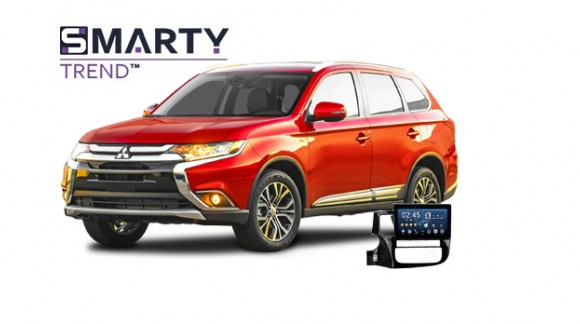 Example of installed SMARTY Trend Entertainment Multimedia in Mitsubishi Outlander