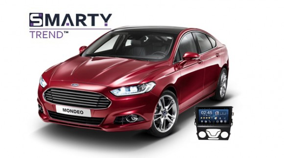 Example of installed SMARTY Trend Entertainment Multimedia in Ford Fusion