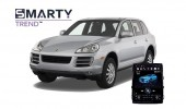 Example of installed SMARTY Trend Entertainment Multimedia in PORSCHE CAYENNE 2011