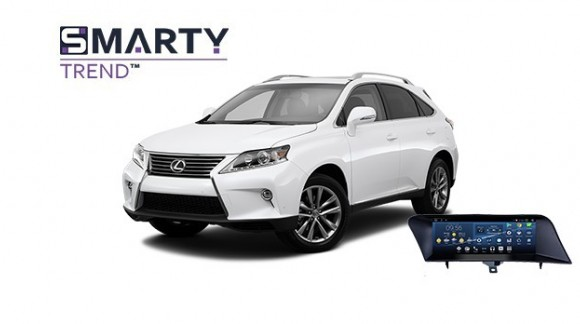 Example of installed SMARTY Trend Entertainment Multimedia in Lexus RX 350