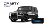 Example of installed SMARTY Trend Entertainment Multimedia in Mercedes Benz G-Class (W463)