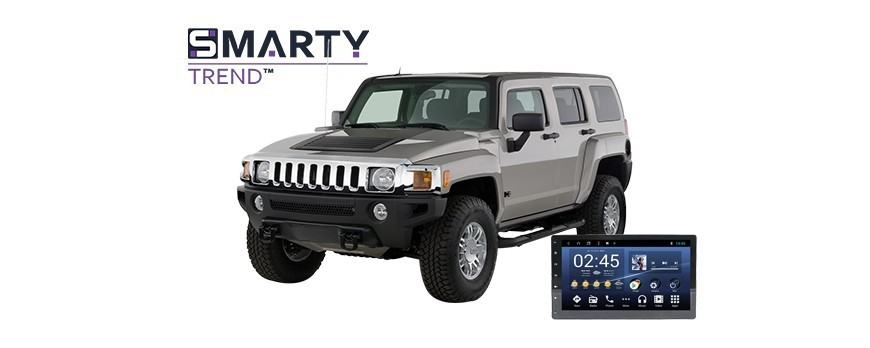 Example of installed SMARTY Trend Entertainment Multimedia in Hummer H2