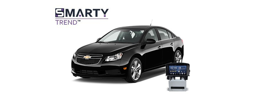 Example of installed SMARTY Trend Entertainment Multimedia in Chevrolet Cruze