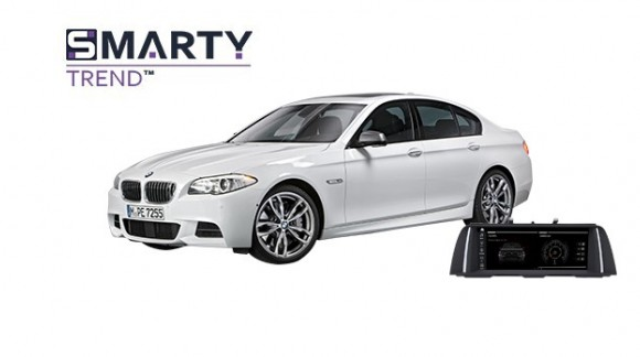 Example of installed SMARTY Trend Entertainment Multimedia in BMW 5 Series F10