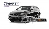 Example of installed SMARTY Trend Entertainment Multimedia in Audi Q7