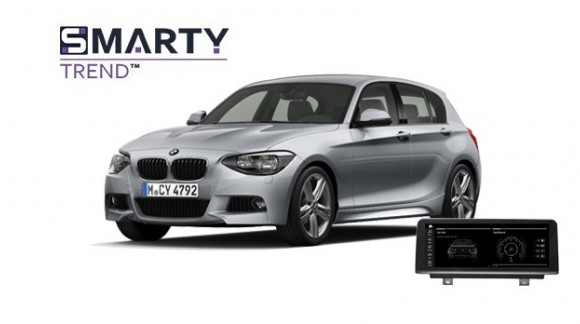 Example of installed SMARTY Trend Entertainment Multimedia in BMW 1 Series F20