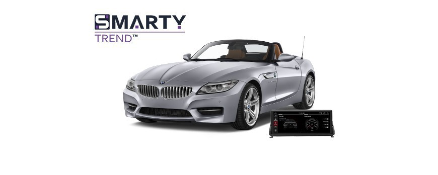 Example of installed SMARTY Trend Entertainment Multimedia in BMW Z4 (E89)