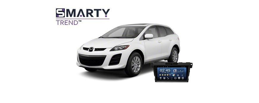 Example of installed SMARTY Trend Entertainment Multimedia in Mazda CX-7