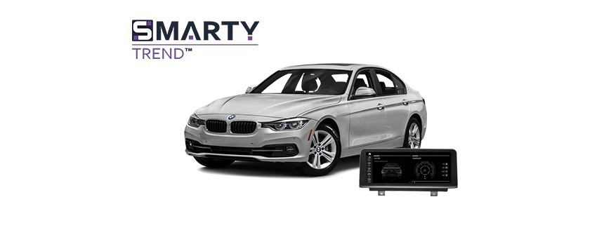 Example of installed SMARTY Trend Entertainment Multimedia in BMW 320 (F30) 2012