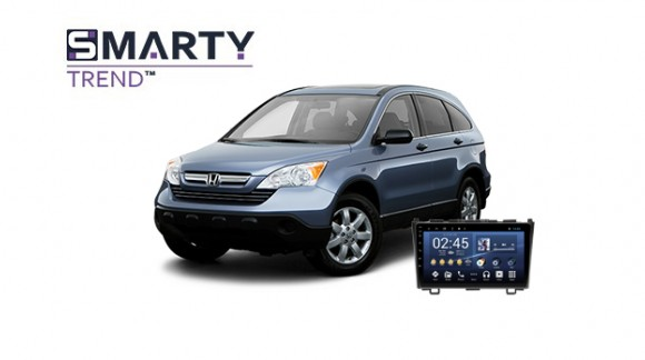 Example of installed SMARTY Trend Entertainment Multimedia in Honda CR-V 2008