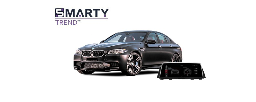 Example of installed SMARTY Trend Entertainment Multimedia in BMW 5 SERIES F10 2012