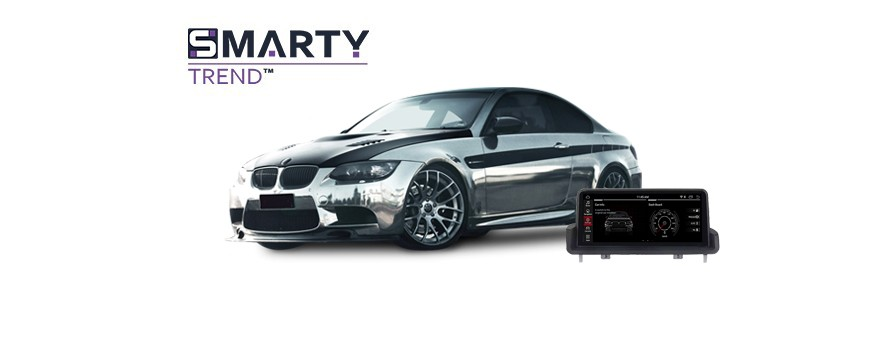 Example of installed SMARTY Trend Entertainment Multimedia in BMW 3 SERIES E90 2012