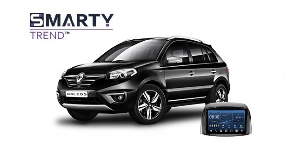 Example of installed SMARTY Trend Entertainment Multimedia in Renault Koleos 2012