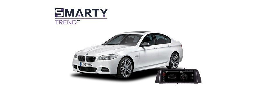 Example of installed SMARTY Trend Entertainment Multimedia in BMW 5 Series F10 2014