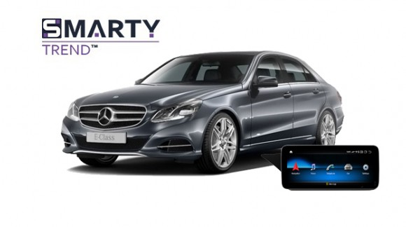 Example of installed SMARTY Trend Entertainment Multimedia in Mercedes-Benz E-Class 2015 (W212)