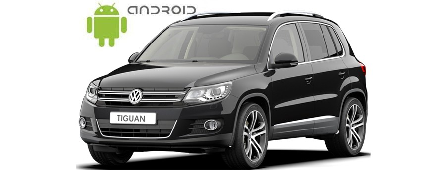 Volkswagen Tiguan Android in-dash Car Stereo Navigation head unit - SMARTY Trend