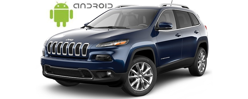 Jeep Cherokee Android in-dash Car Stereo Navigation head unit - SMARTY Trend
