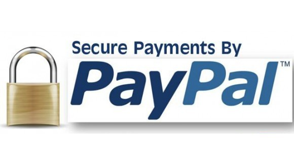 PayPal - our new secure payment option