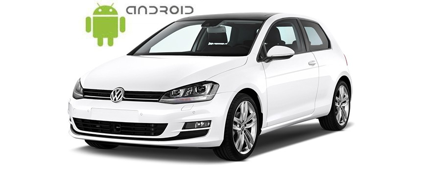 Volkswagen Golf VII Android in-dash Car Stereo Navigation head unit - SMARTY Trend