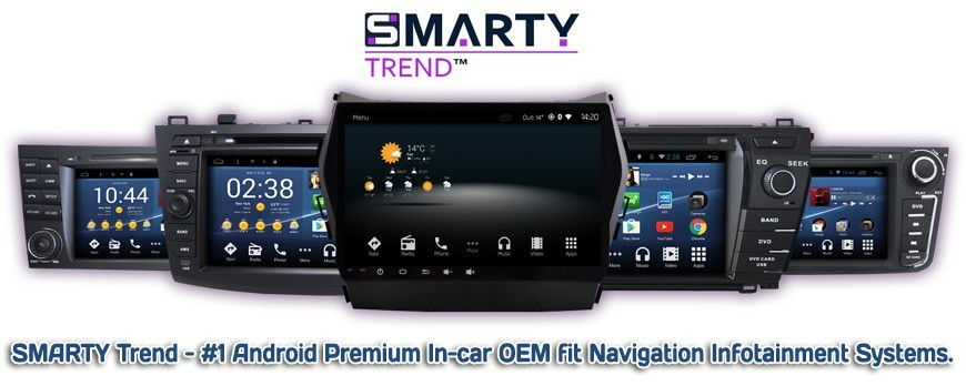 The SMARTY Trend - the best brand of head units. The overview of advantages.